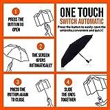 Viteps Windproof Travel Umbrella, Wind Resistance