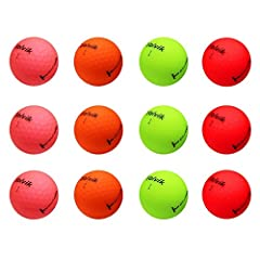 World class visibility and performance now in amazing Matte finish! The Volvik Crystal Vivid Golf Balls are unique in the fact that they combine Volviks neon colors with an amazing matte finish plus the amazing performance that the Crystal ba...