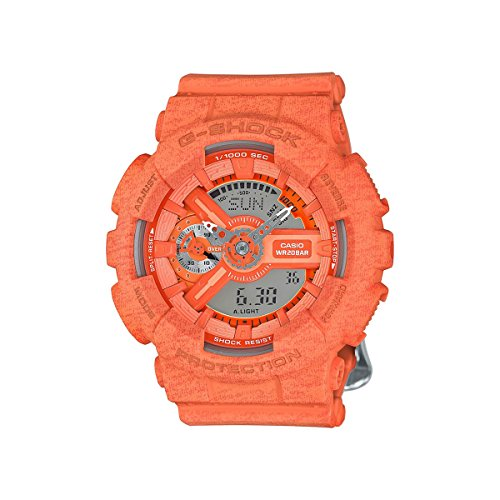 G-Shock GMAS-110HT Heathered Color Theme Stylish Watch - Orange / One Size Orange G-shock