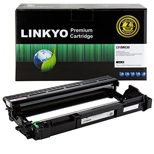 LINKYO Compatible Drum Unit Replacement for Brother DR630 DR-630 ()