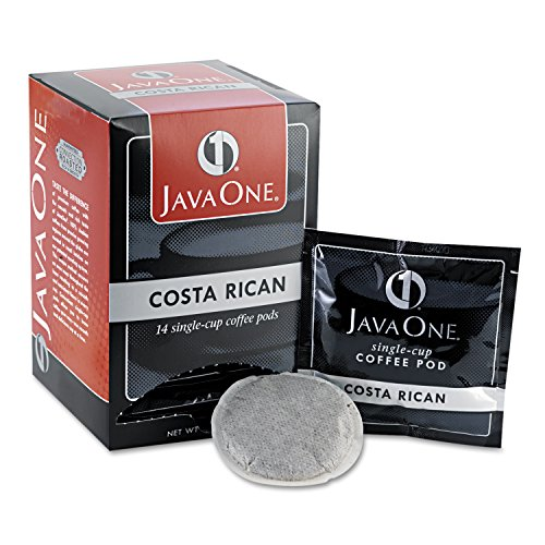 JAVA TRADING CO 30400 Coffee Pods, Estate Costa Rican Blend, Single Cup, 14/Box