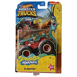 Hot Wheels Monster Trucks Spongebob Squarepants Plankton 5/5