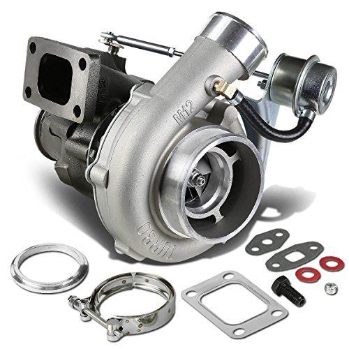 T04E T3/T4 4-Bolt Manifold Flange Stage III Anti-Surge Turbocharger with Internal Wastegate Turbine A/R ()