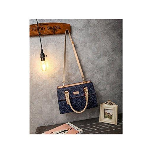 Casual Hobos Xagoo de las mujeres del bolso de hombro de la correa de mensajero y con Petit bolso 6 habitaciones (Estilo 4) Estilo 2