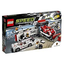 LEGO (LEGO) speed champion Porsche 919 hybrid & 917K pit lane 75876