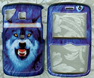 WOLF BLUE FACEPLATE PHONE COVER SNAP ON CASE PANTECH REVEAL C790 AT&T