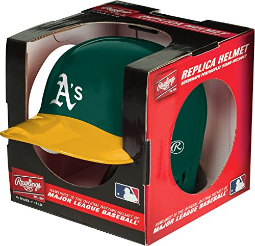 MLB Oakland Athletics Mini Replica Helmet, Green