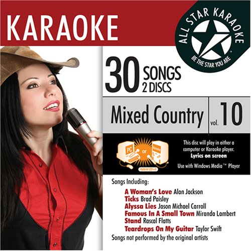 ASK-72 Mixed Country Karaoke Vol.10; Jake Owen, Taylor Swift and Josh Turner