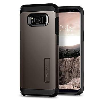 spigen Funda Galaxy S8, Carcasa [Tough Armor] Kickstand y Extrema protección de Servicio Pesado y tecnología de cojín de Aire para Galaxy S8 (2017) - ...