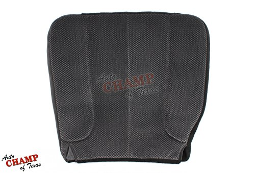 5.7l Hemi Quad - 2003-2004 Dodge Ram SLT 5.7L V8 HEMI -Driver Side Bottom Cloth Seat Cover Gray