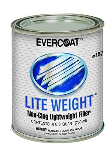 Evercoat Fibreglass 157 Light Weight Body Filler - Quart by Evercoat