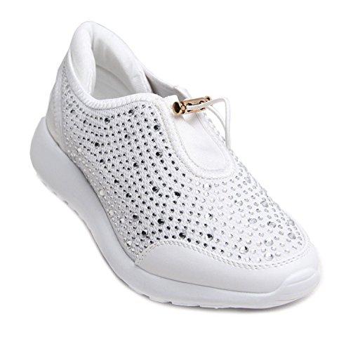 mode femme Blanc FLIRTY pour WARDROBE Baskets 4wEY0q