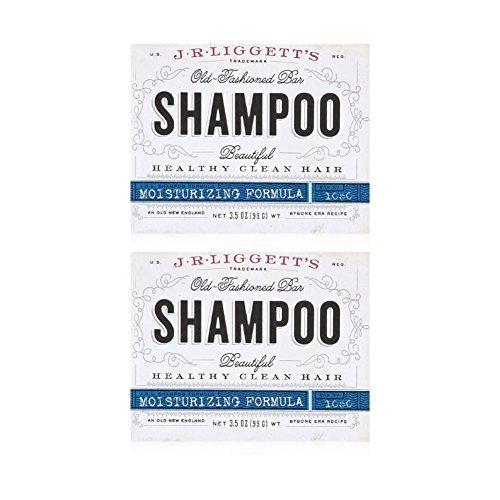 J.R. Liggett Bar Shampoo Moisturizing Hair Formula, 3.5 Oz (Pack of 2) by J.R. Liggett