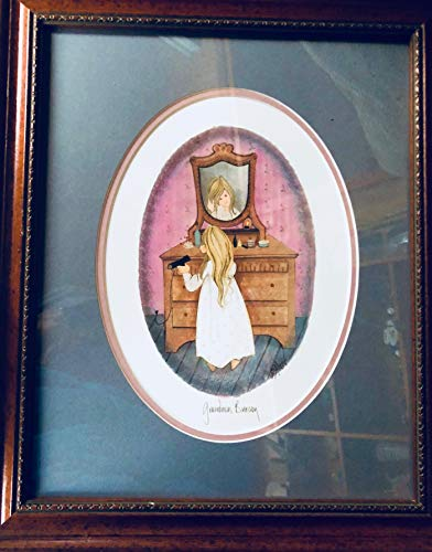 P. Buckley Moss Lithograph -Grandma's Bureau - Signed for sale  Delivered anywhere in USA