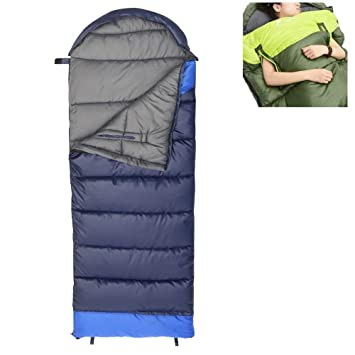 Wind Tour - Saco de dormir para adultos, ligero, cálido y sin atar,