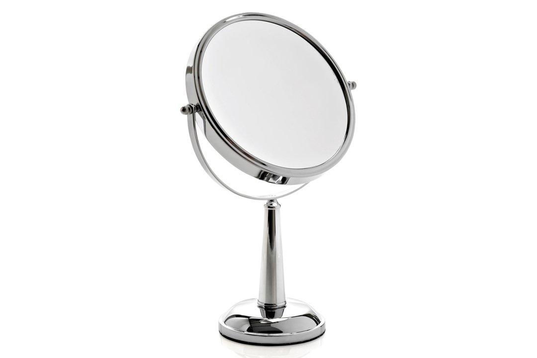 Miroir sur pied grossissant x10 double face pour la chambre ou la coiffeuse