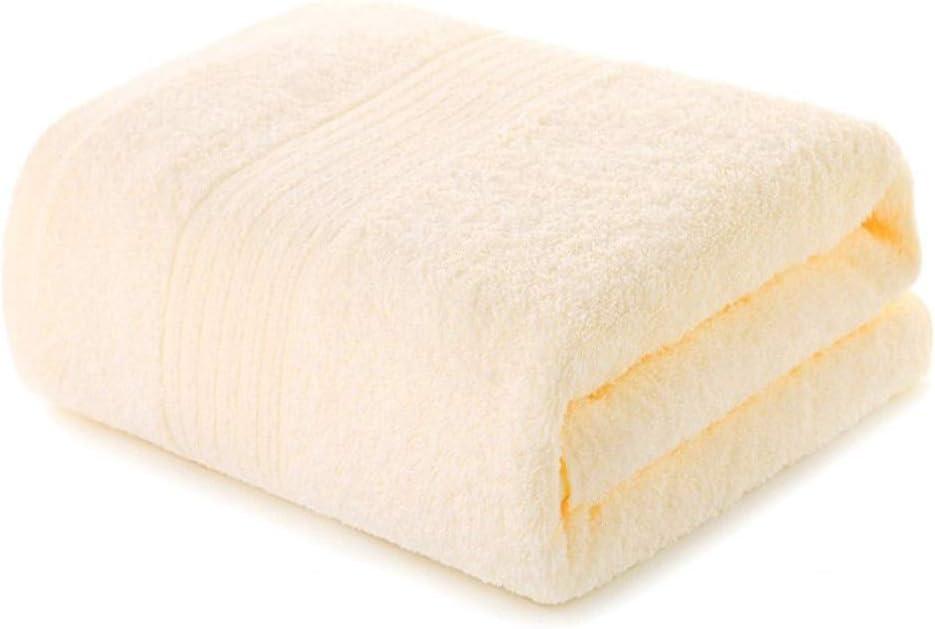 hommes et femmes Coton grand absorbant et s/échage rapide Serviette de bain grande serviette de bain Set b/éb/é m/énage jaune Classe de coton couleur or A Serviette de bain pour adultes