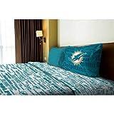 Northwest NFL Anthem Miami Dolphins Bedding Sheet