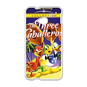 HTC One M7 Cell Phone Case Covers White Three Caballeros as a gift T5565749