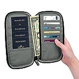 Family Passport Holder, Fintie RFID Blocking Zipper