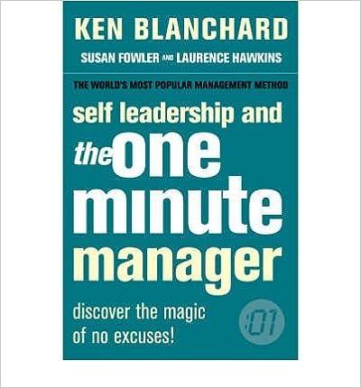 Leadership And The One Minute Manager price comparison at Flipkart, Amazon, Crossword, Uread, Bookadda, Landmark, Homeshop18