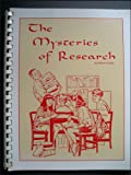 The Mysteries of Research, Sharron Cohen, 0913853216