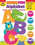 Jumbo Fun with the Alphabet, Grades PreK-1, Evan-Moor, 1596739428