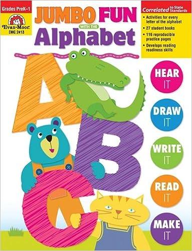 Jumbo Fun with the Alphabet: Evan Moor: 0023472024138: Amazon.com ...