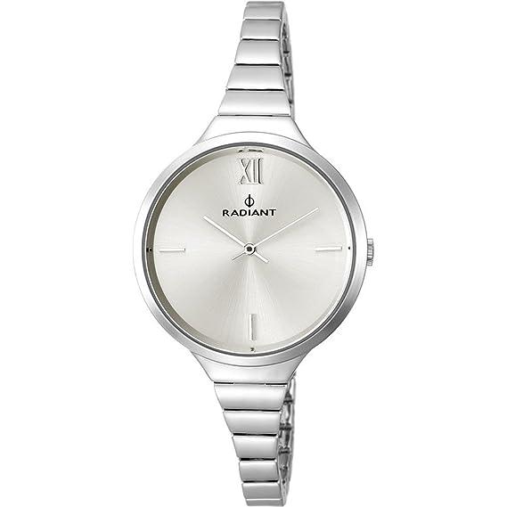 Reloj Radiant mujer New Sense RA459202 plateado [AB6229] - Modelo: RA459202: Amazon.es: Relojes