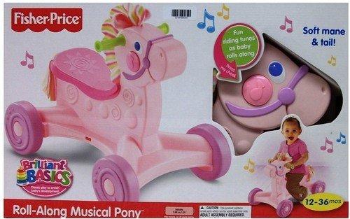 Fisher Price - Andador Pony Musical Rosa: Amazon.es ...