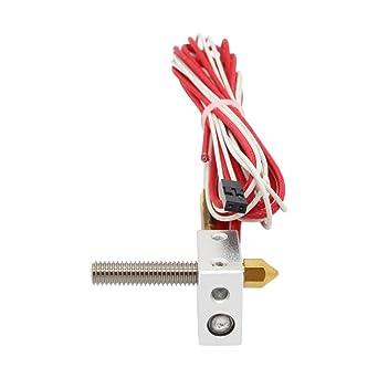 Anycubic MK8 Extrusora Hotend de Calefacción para el impresora 3D ...