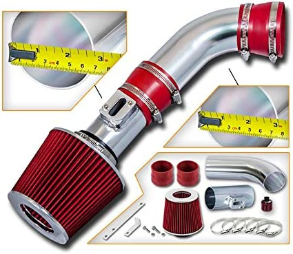 2007-2012 CHEVY COLORADO//CANYON//HUMMER H3 H3T 2.9L COLD AIR INTAKE KIT Red