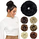 ROSEBUD Hair Bun Extensions Messy
