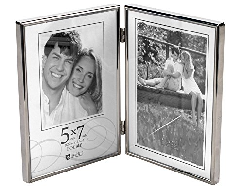 Vertical Silver Picture Frame - 6