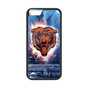iPhone 6 Plus 5.5 Inch Cell Phone Case Black Chicago Bear IVT Phone Case Wholesale