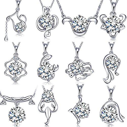 twelve-constellations-pendant-925-silver-zodiac-necklace-flashing-zircon-pendant