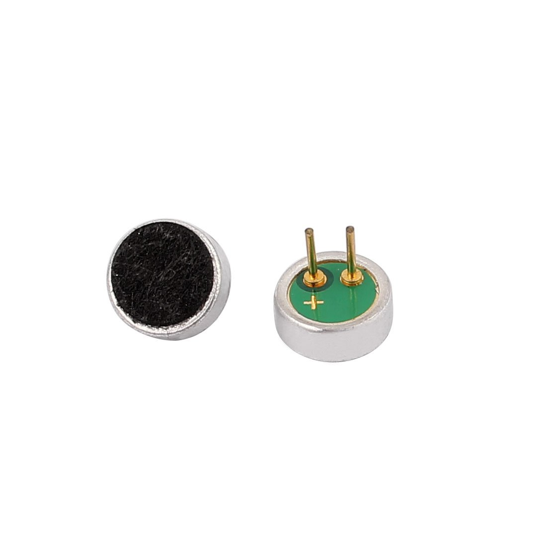 sourcing map 4Pcs Micr/ófono De Condensador Electret De Alta Sensibilidad Recogedor 6X2mm 30-32dB