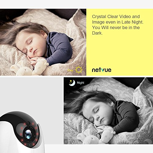 Netvue 1080p Home Security Wifi Camera Compatible With