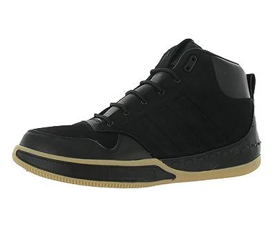 adidas lux metà nero / gomma sz mens moda.