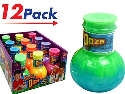 JA-RU Dr Wackos Slime Ooze (Display Box with 12) Colorful Item -