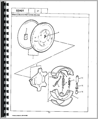 Amazon Com Ford 801 Tractor Parts Manual 6301147665775 Books