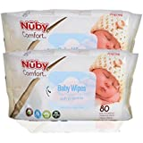 Nuby Baby Wet Wipes (Pack Of 2)