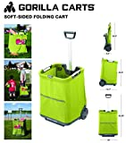 Gorilla Carts GCSS-11G-COM Collapsible Soft-Sided