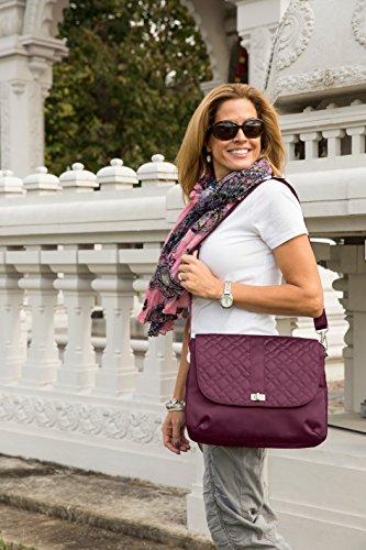 Travelon Women's Anti Signature Body Crossbody Bag Black Cross Theft OOrdq