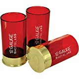 12 Gauge Shotgun Shells Shot Glasses. Set of 4