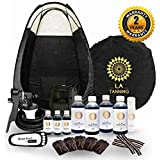 STAR BUY!!Latest Spray Tanning Kit! TS20 Unit, Tent, 7 Bottles of Our AWARD WINNING LA Tan Solution, Disposables, AND Barrier Cream.PLUS 2 YRS WARRANTY!
