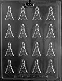 Grandmama's Goodies M246 B/S Eiffel Tower Detailed Chocolate Candy Soap Mold with Exclusive Molding Instructions