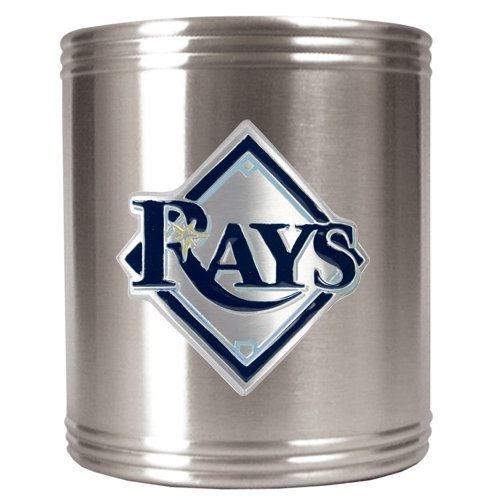 Tampa Bay Rays - MLB Stainless Steel Can Holder by Great American Products