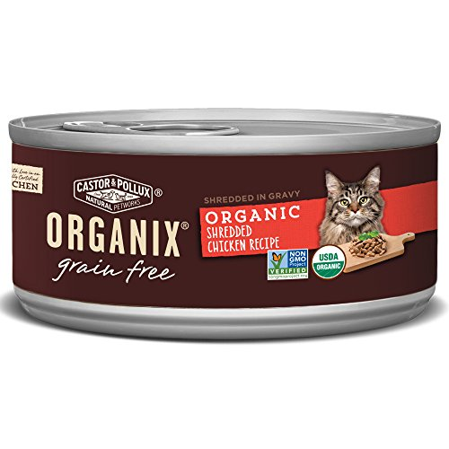 Organix Shredded Chicken Recipe For Adult Cats, 3-Ounce Cans (Pack Of 24)