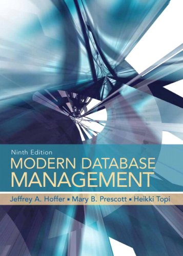 Modern Database Management (9th Edition)